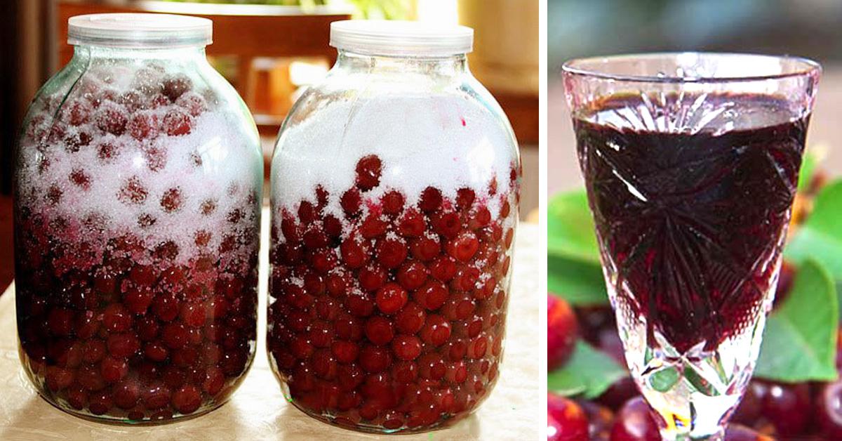 Настойки на спирту в домашних условиях рецепт с вишней