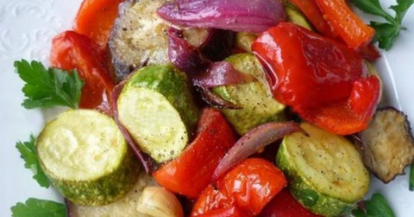 Fit restovaná zelenina v citrónovej marináde