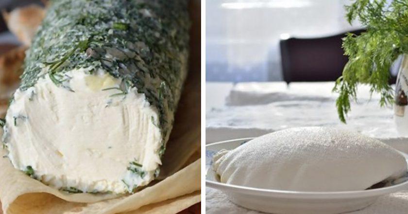 Domáci mäkký syr