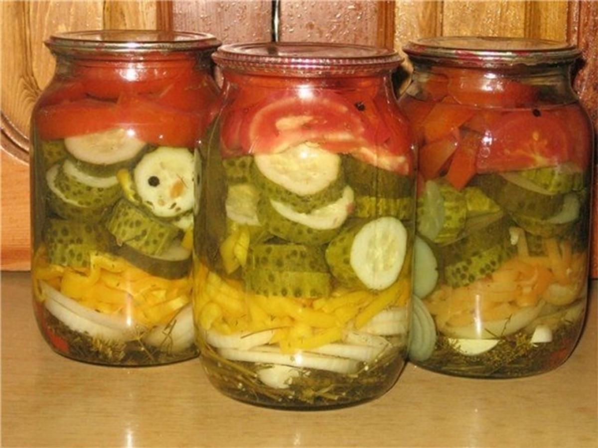 Салат с капустой на зиму без стерилизации рецепты пошагово