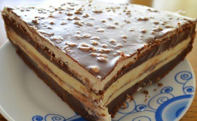 Čokoládová torta s mascarpone