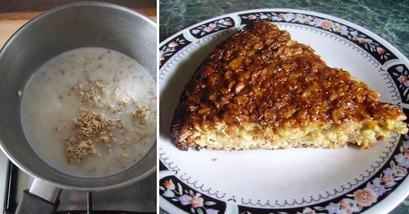 Fitness tvarohový koláč