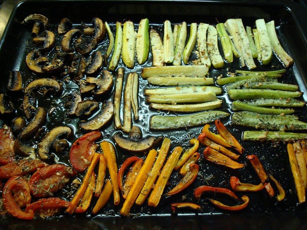 Grilovaná anglická zelenina