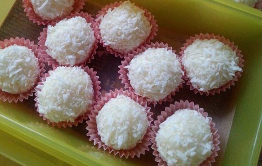 Kokosovo-limetkové guľky