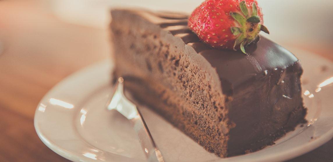 Čokoládovo-pomarančový koláč