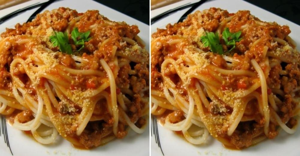 Rýchle špagety bolognese s čerstvými paradajkami