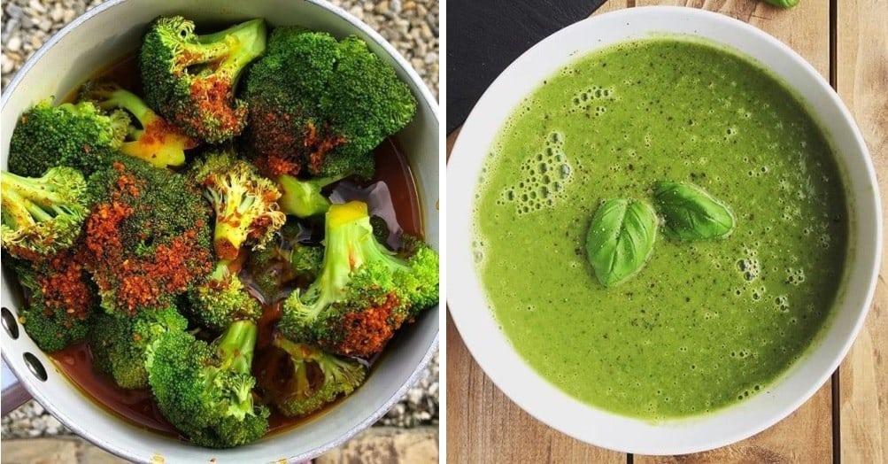Zdravá brokolicová polievka