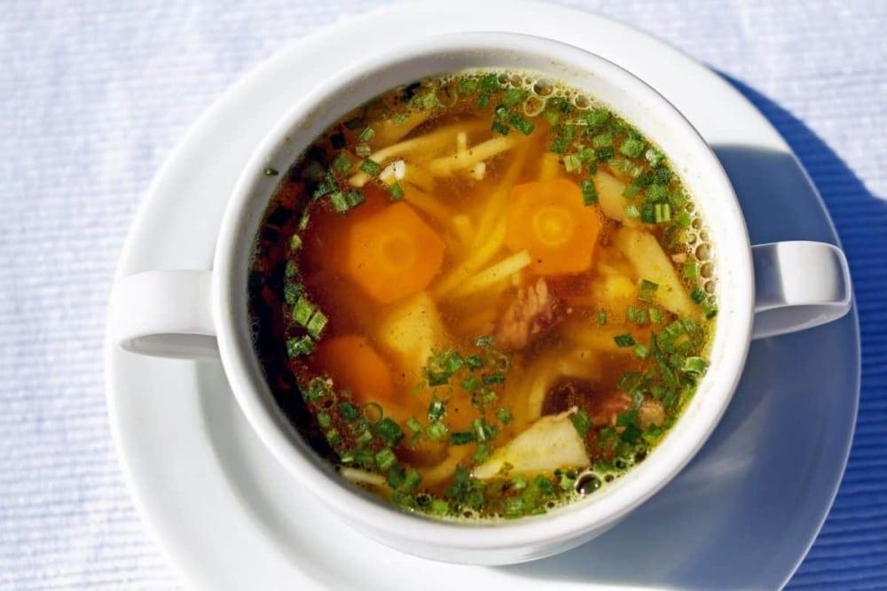Jesenná zeleninová polievka