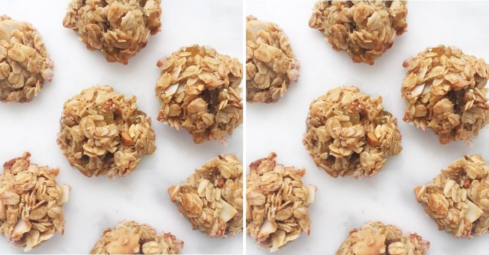 Domáca granola s ovocím a mandlami