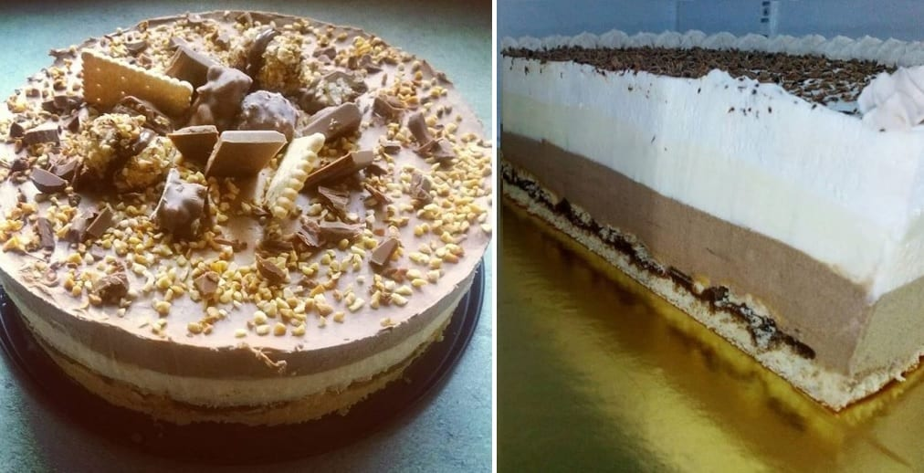 """Pudingová """"Monte"""" torta"""