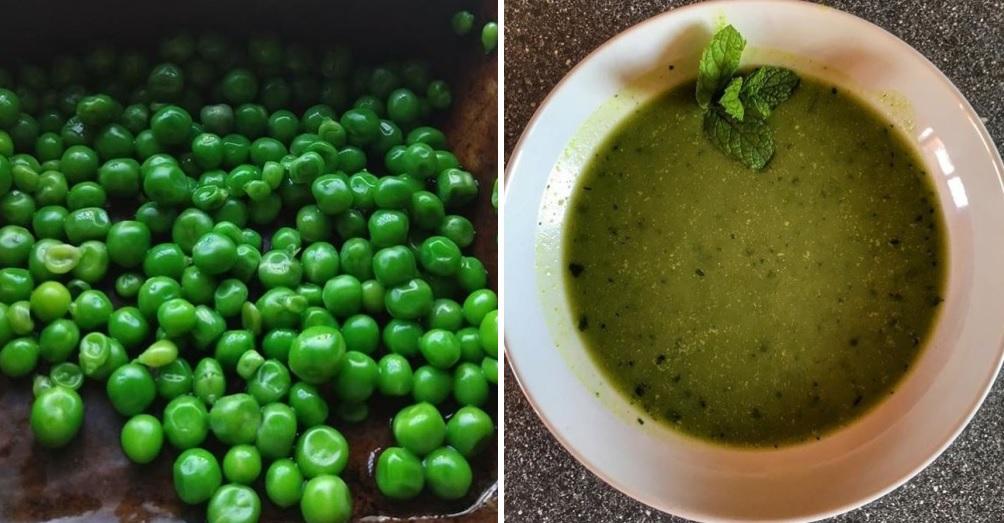 Vylepšená hrášková polievka podľa Mačingovej