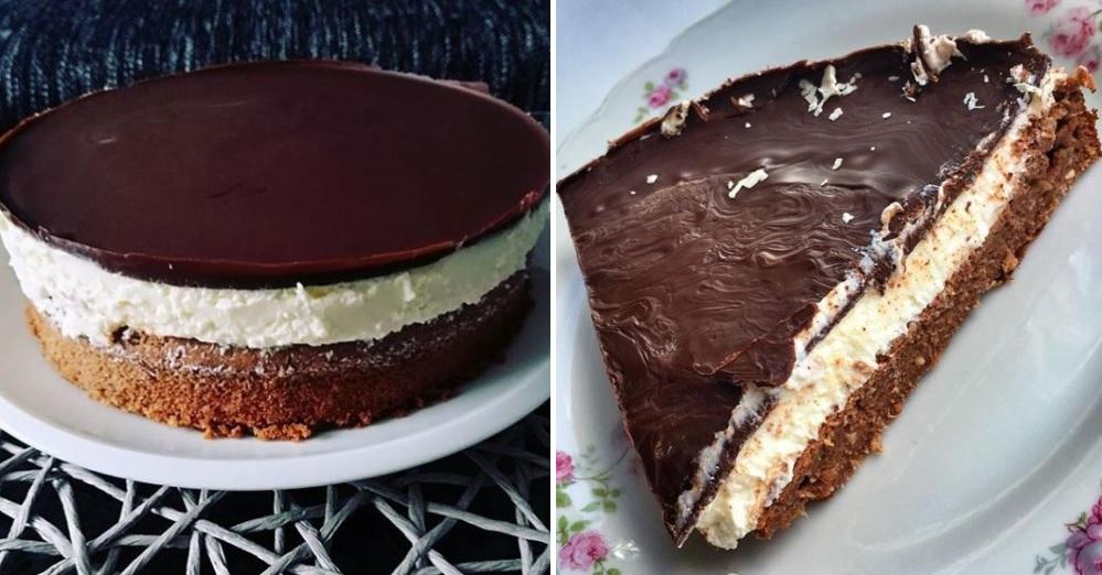 Tvarohová torta Míša