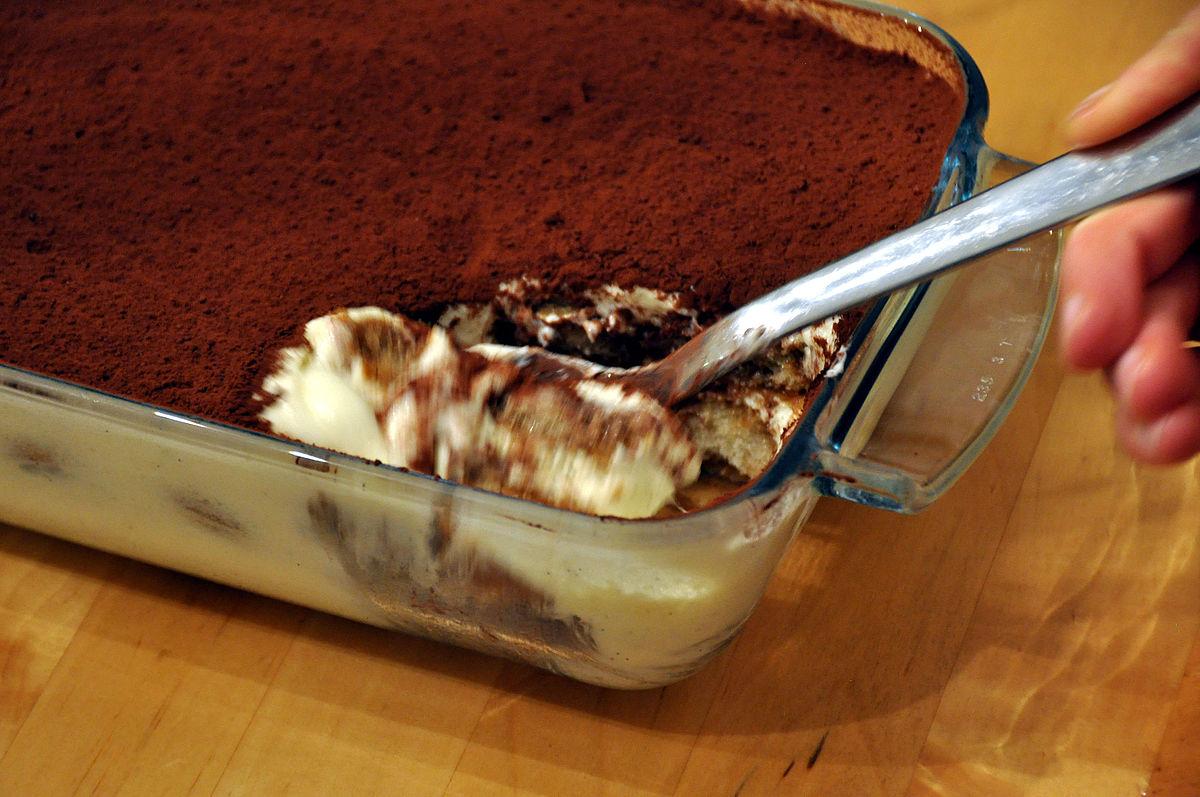 Nepečený dezert s mascarpone