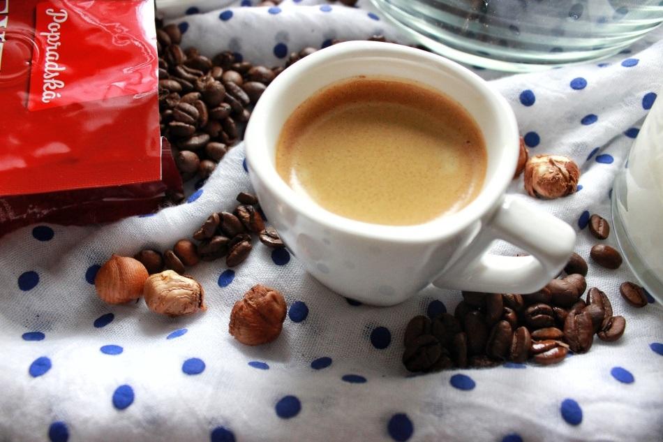 espresso na kávový krém