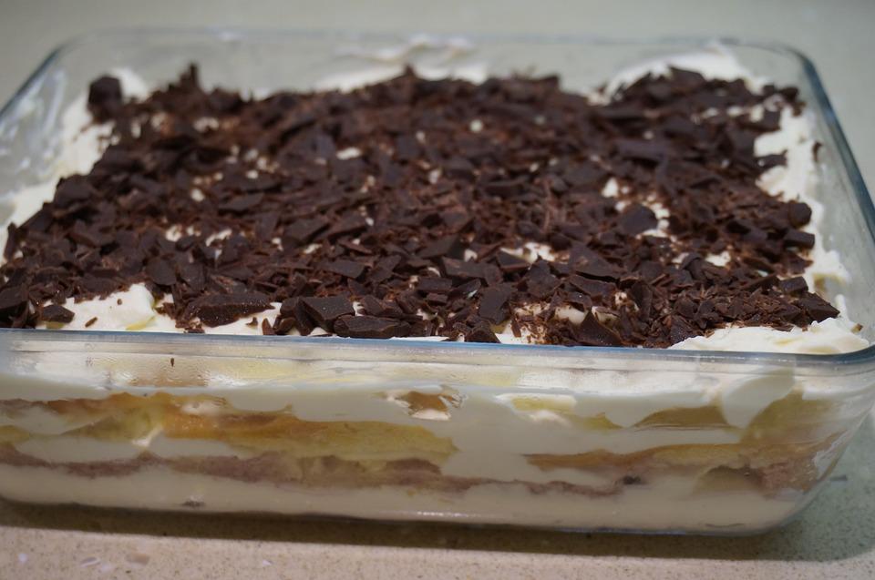Nepečená smotanová torta s čučoriedkami