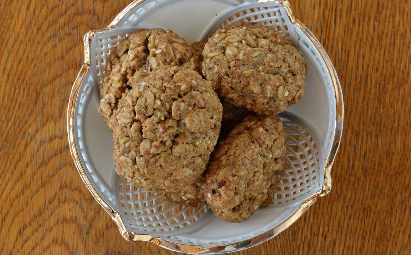 Jahodovo-ovsené keksy