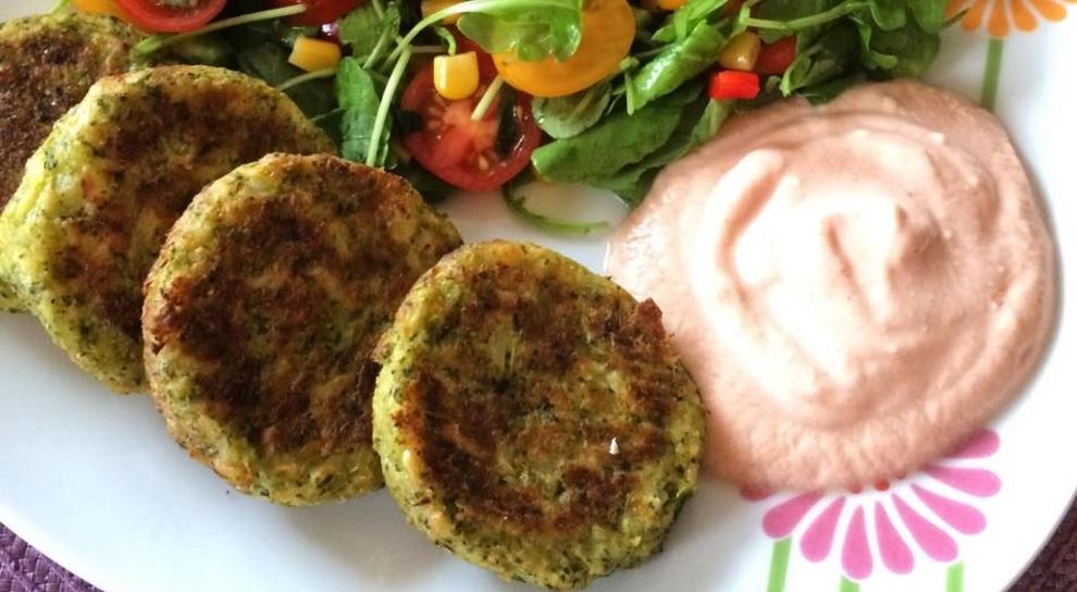 Brokolicové diétne placky